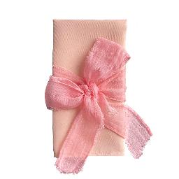 Pink Cheesecloth 4' Ribbon
