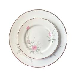 Vintage Rose Dinnerware Set