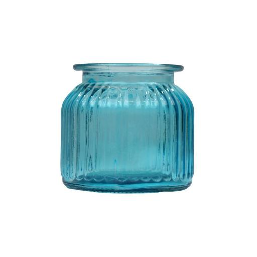 Meghan Blue Short Vase