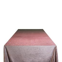 Mauve Velvet Tablecloth