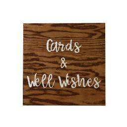Small Wood Sign - Card