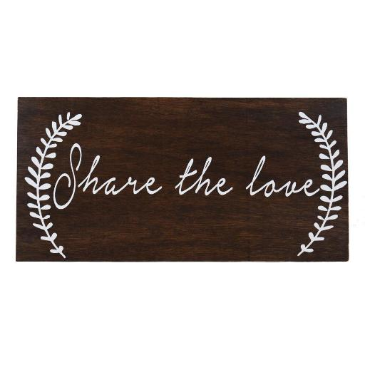 Wood Share the Love - Espresso