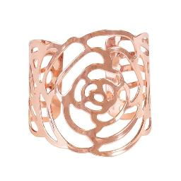 Rose Napkin Ring - Rose Gold