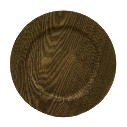 Walnut Charger Plate