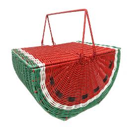 Watermelon Picnic Basket