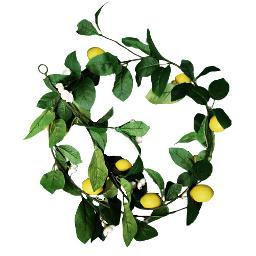 Faux Lemon Garland