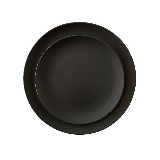 Charcoal Stoneware Dinnerware Set