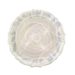 "Glass Luster 11"" Plate"