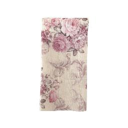 French Floral Poly Napkin - Pink