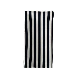Stripe Napkin - Black
