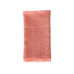 Coral Cheesecloth Napkin